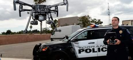 Polícia nos EUA divulga vídeo impressionante de uma prisão filmada por drone