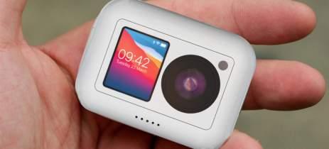 Designer cria AirCam, um conceito de câmera Apple para competir com a GoPro