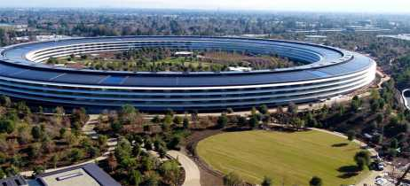Apple Park estaria vigiando drones que sobrevoam local, diz piloto