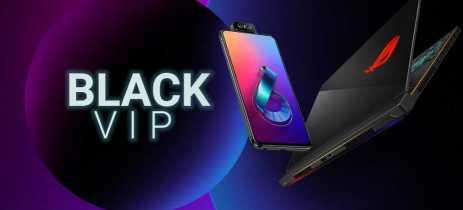 LINK EXCLUSIVO! Black VIP da Asus com produtos high-end por até 25% de desconto