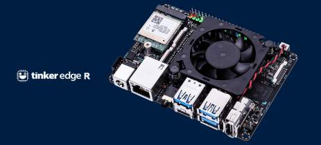 ASUS lança o mini-PC Tinker Edge R com suporte para Linux e Android
