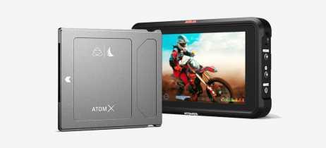 Angelbird anuncia o SSD AtomX para monitores de captura Atomos Ninja V