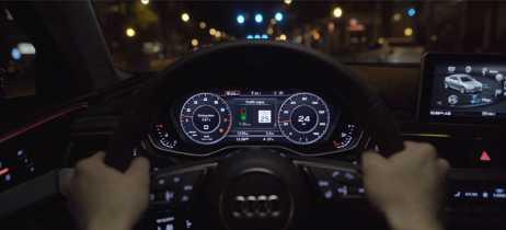 Sistema Audi TLI agora avisa velocidade para motorista pegar sinais verdes sucessivos