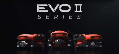 Autel EVO 2 - Super drones são apresentados com câmera 8K, sensores 360 graus e 40 minutos de voo