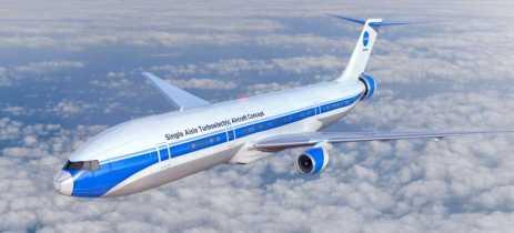 NASA está trabalhando em aviões elétricos para voos comerciais