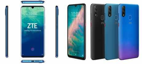 ZTE anuncia novos smartphones Axon 10 Pro 5G e Blade V10