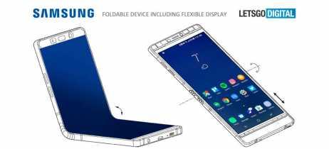 Samsung registra patente mostrando smartphone dobrável, o suposto Galaxy X