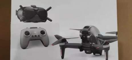 Bateria do DJI FPV Drone vaza confirmando algumas especificações