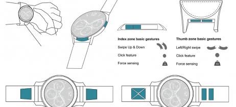 Huawei registra nova patente para controlar smartwatch