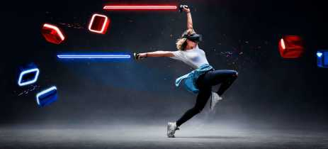 Jogo de realidade virtual Beat Saber ganha atualização para ajudar nos exercícios em casa