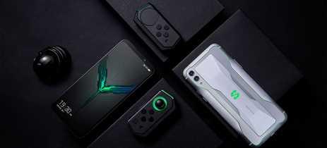 Celular gamer Black Shark 3 5G carregará 100% da bateria de 5000mAh em 38 minutos