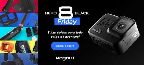 GoPro lança promoções de Black Friday no Brasil em parceria com Magazine Luiza