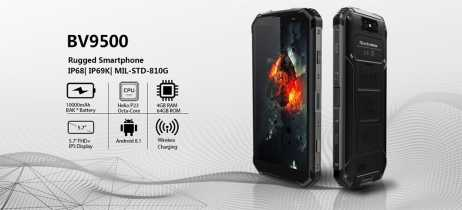 Smartphones Blackview BV9500 e BV9500 Pro entram na pré