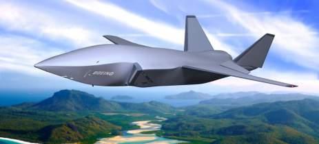 Boeing revela seu drone de combate autônomo