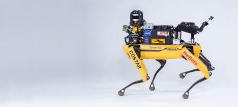Boston Dynamics utiliza cão robô para explorar cavernas