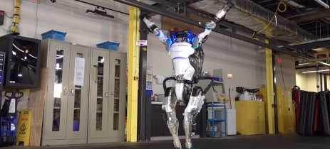Boston Dynamics lança vídeo com rotina de ginástica completa do robô Atlas