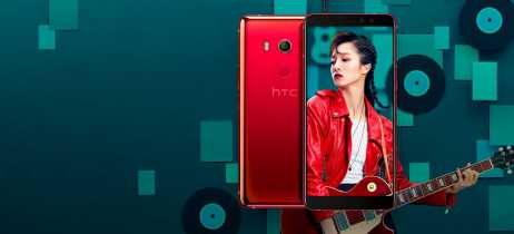 HTC apresenta o U11 EYEs, com duas câmeras frontais e reconhecimento facial