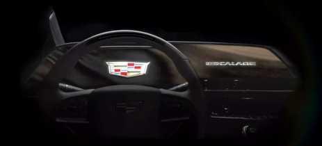 Modelo 2021 do Cadillac Escalade terá tela OLED curva com 38 polegadas