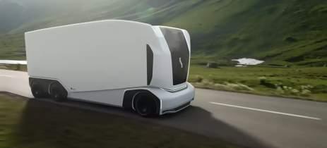 Startup apresenta novo caminhão autônomo de entregas sem cabine para 2021