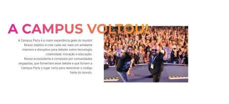 Campus Party anuncia retorno com sistema híbrido de participação