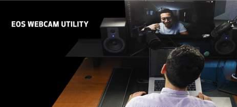 Versão final do Canon EOS Webcam Utility para Windows traz suporte para mais câmeras
