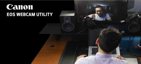 Canon EOS Webcam Utility transforma câmeras compatíveis em webcams