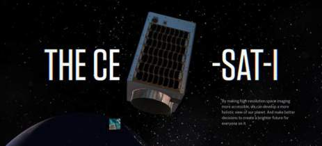 Canon disponibiliza site que permite tirar fotos da Terra usando um satélite real