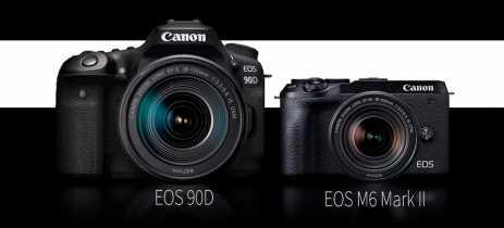 Canon anuncia duas novas câmeras: a EOS 90D DSLR e a EOS M6 Mark II mirrorless