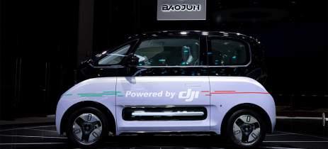 Carro autônomo usando sensores da DJI aparece no Shanghai Auto Show