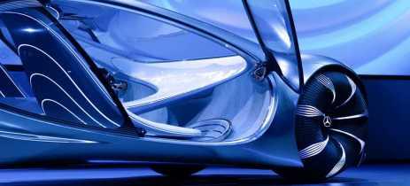 Mercedes-Benz apresenta Vision AVTR, carro do futuro inspirado no filme Avatar