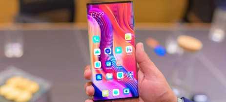 Xiaomi demonstra Mi Mix Alpha para jornalistas na Índia