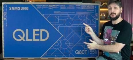 Tiramos da caixa a Q80T, TV QLED da Samsung voltada para o público gamer