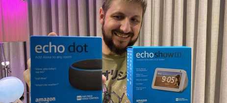Echo Dot e Echo Show 5: caixas de som inteligentes da Amazon valem cada centavo