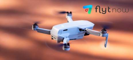 FlytNow adiciona suporte ao drone DJI Mavic Mini que inclui controle remoto