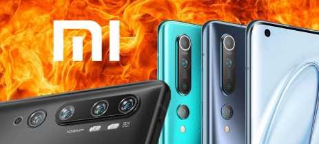 Mi 10 Vs. Mi Note 10: quais as diferenças entre os dois smartphones da Xiaomi?