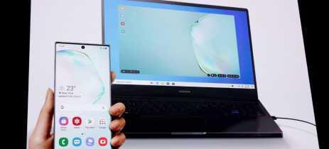 Samsung Galaxy S10 recebe suporte ao Dex e recursos extras de câmera