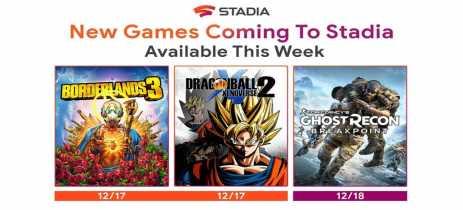 Google Stadia receberá mais três jogos de peso em seu catálogo nesta semana