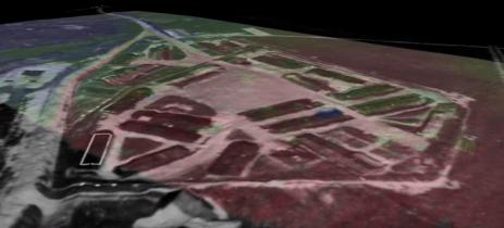 Campo de concentração da II Guerra Mundial é descoberto com drone e sensores LiDAR