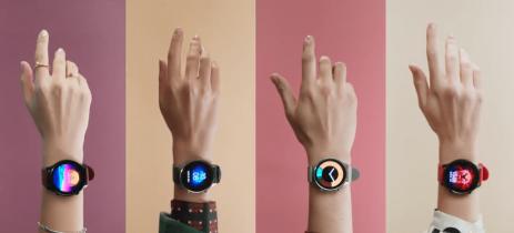 Xiaomi Watch Color é apresentado com quatro opções de cores e design circular
