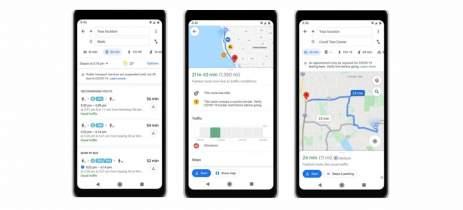 Google Maps exibirá alertas de transporte sobre locais afetados pela Covid-19