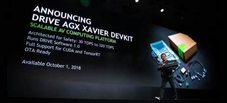 Startups de veículos autônomos elegem Drive AGX da Nvidia para seus automóveis