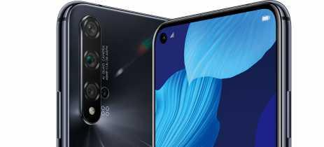 Huawei Nova 5T chega ao Brasil com cinco câmeras e Kirin 980