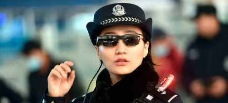 Polícia chinesa usa óculos com reconhecimento facial para identificar criminosos
