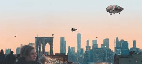 Cityhawk: carro voador inteligente pode pousar até mesmo em telhados