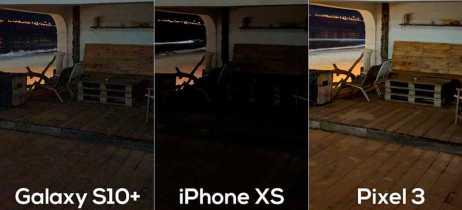 Google Pixel 3 vai melhor em comparativo de fotos noturnas com iPhone XS e Galaxy S10+
