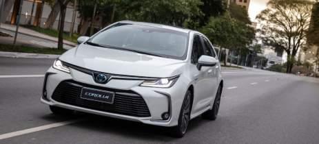 Toyota comercializou 25 mil veículos híbridos flex no Brasil