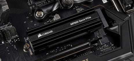 SSDs Corsair de próxima geração com PCIe 4.0 chegam a partir de US$250