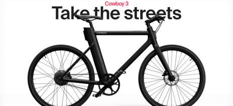Cowboy adiciona gratuitamente detecção de colisão para suas e-bikes
