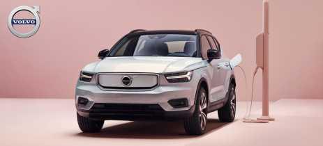 Volvo lança XC40 Recharge, primeiro carro 100% elétrico da empresa