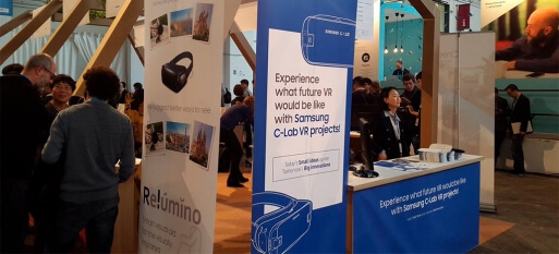 Samsung anuncia três novos projetos da C-Lab, incluindo óculos para deficientes visuais